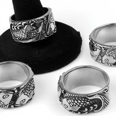 Steel Koi Ring