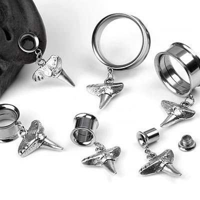 Steel Shark Teeth Eyelets