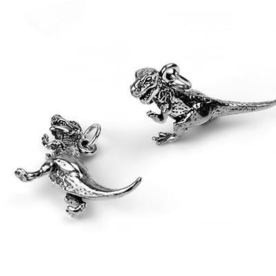 Silver T-Rex Pendant