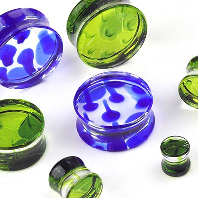 Congo Glass Plugs