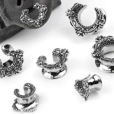 Silver Laurel Saddles
