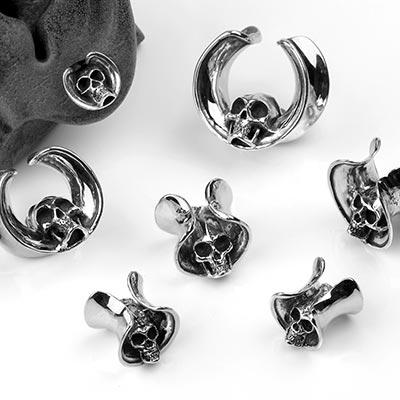 Silver Skull Saddles