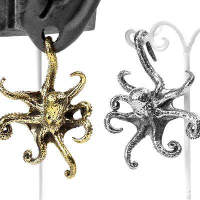 Brass Octopus Weights