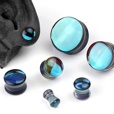 Glass Noir Plugs