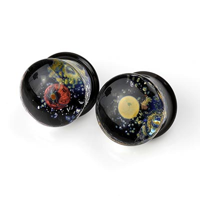 Pyrex Glass Space Plugs