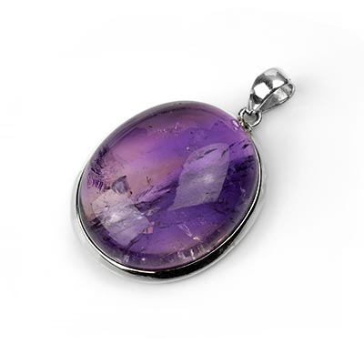 Silver and Ametrine Pendant