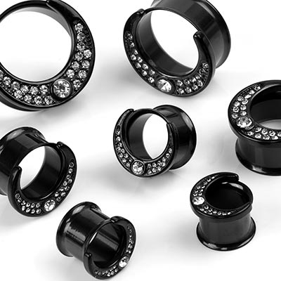 Steel Black Moon Eyelets