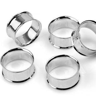 Silver Eyelets