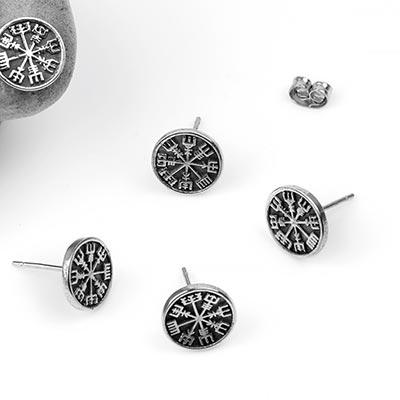 Helm of Awe Stud Earrings