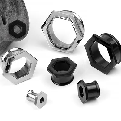 Steel Double Flare Hexagon Eyelets