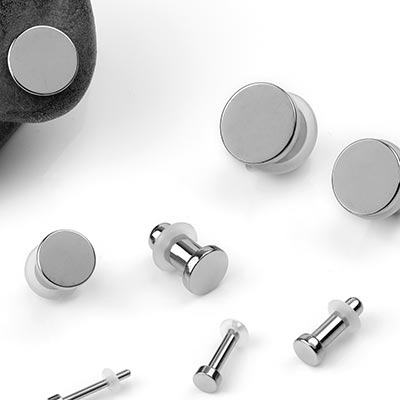 Single Flare Titanium Stretching Plugs