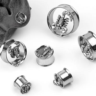 Steel Scorpion Plugs
