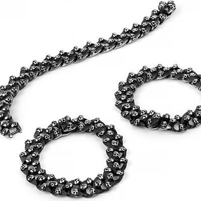 Steel Catacombs Bracelet