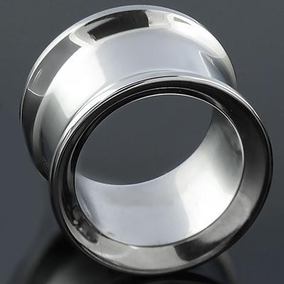 Titanium double flare eyelet