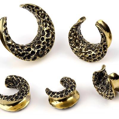 Brass Textured Saddles
