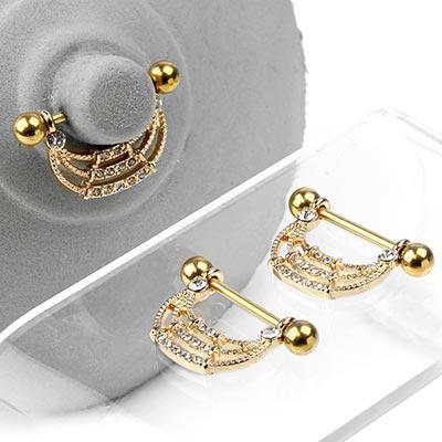 Golden Arch Nipple Shield