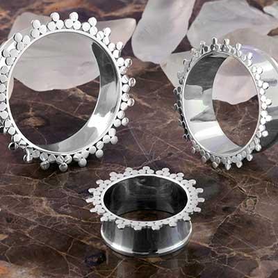 Silver Stellar Eyelets
