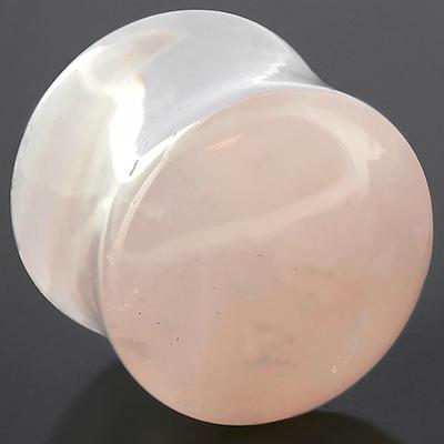 Rose Quartz Stone Plug