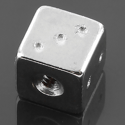 Threaded steel dice