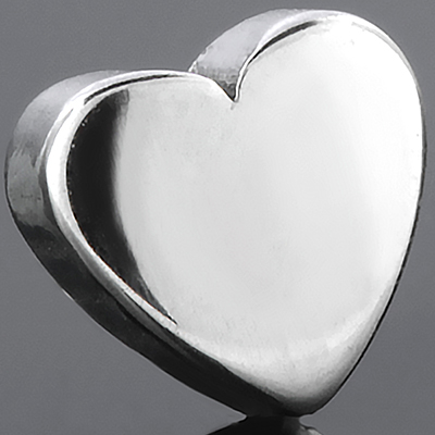 Threaded steel heart