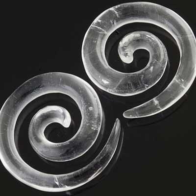 Rock Crystal Super Spirals