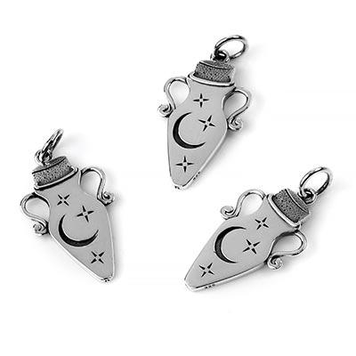 Silver Magic Potion Pendant