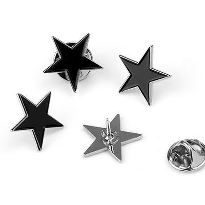 Black Star Pin