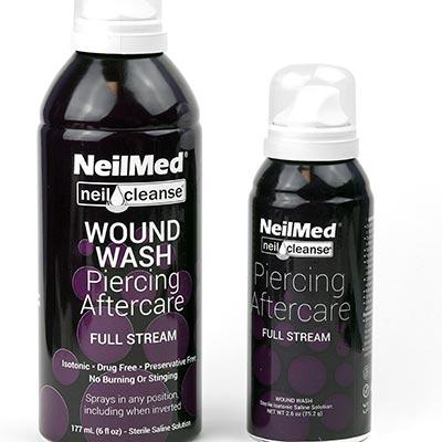 NeilMed Piercing Aftercare - Full Stream