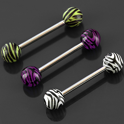 Tiger Striped Barbell