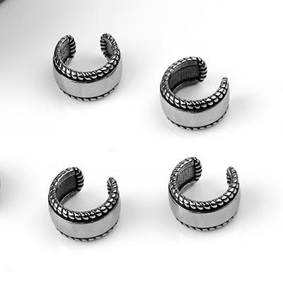 Steel Braided Ear Cuff