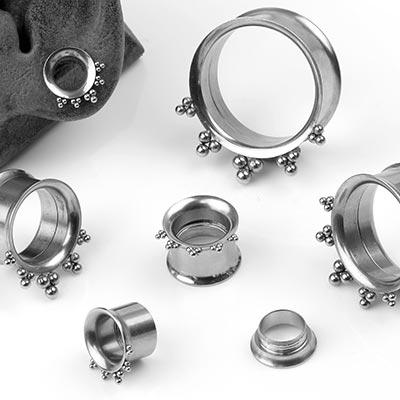 Steel Cluster Bead Eyelets