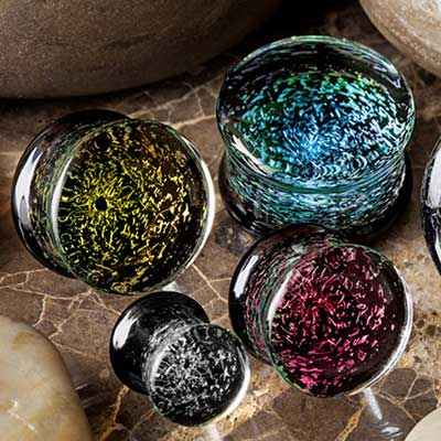 Galaxy Plugs (Double Flare)