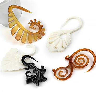 Hand Carved Horn and Bone Designs by Tawapa
