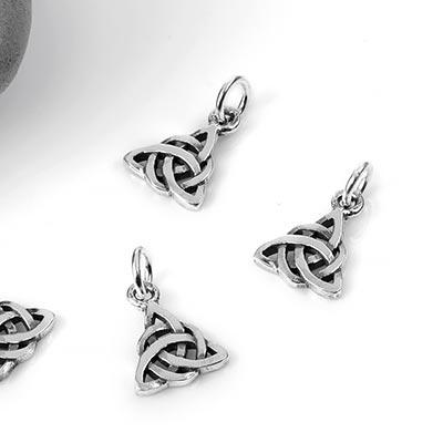 Silver Triquetra Charm