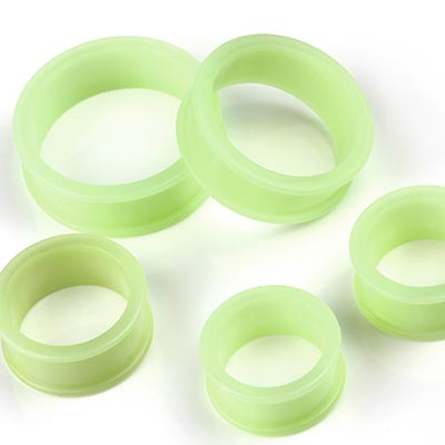 Large Glow in the Dark Silicone Eyelets