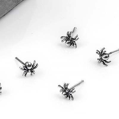 Silver Spider Nosebone