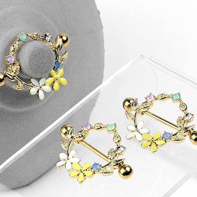Daisy Chain Nipple Shield