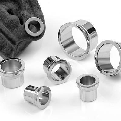 Single Flare Stainless Steel Stretching Eyelets