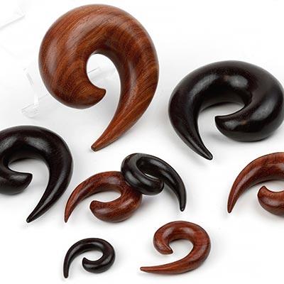 Wood Short Spirals