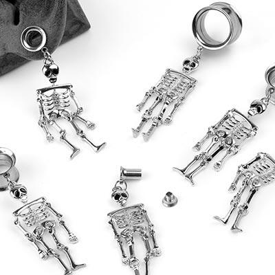 Steel Dancing Skeleton Eyelets