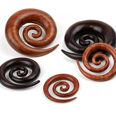 Wood Super Spirals