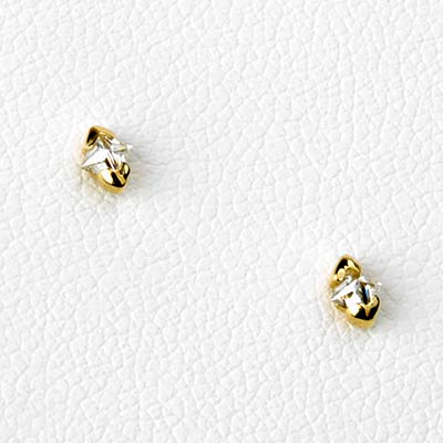 Solid 14k Gold Eve Threadless End