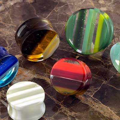 Glass Linear Plugs