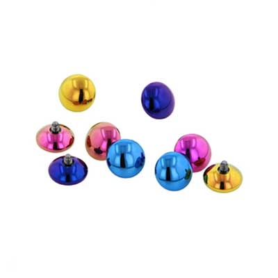 PRE-ORDER Titanium M&M threaded end