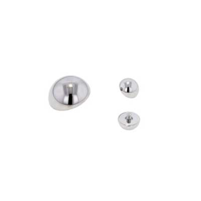 PRE-ORDER Steel dome threaded end
