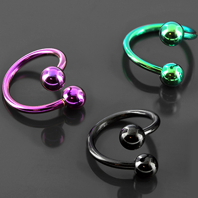 Color-Coated Twist Barbell (1 Spiral)