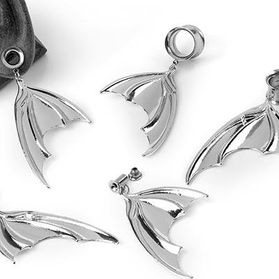 Steel Dangling Bat Wing Eyelets