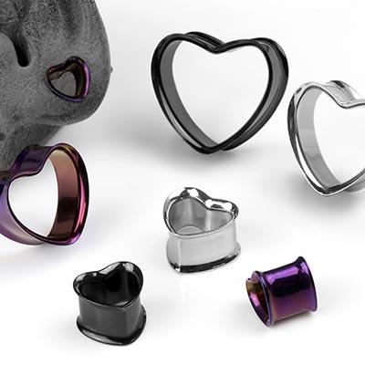 Steel Heart Eyelets