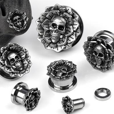 Steel Death Blossom Plugs