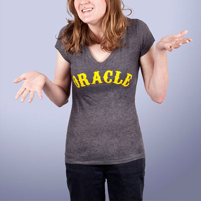 Oracle Ladies V-Neck T-Shirt
